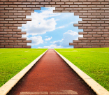 http://www.dreamstime.com/royalty-free-stock-images-running-track-brick-one-lanes-to-sky-image25155029